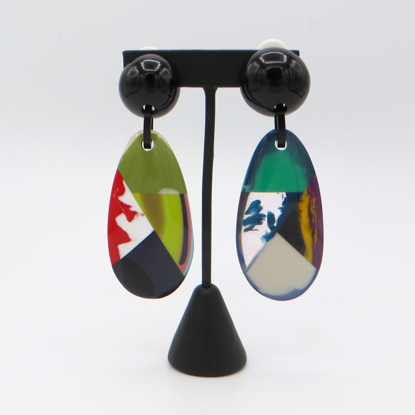 Marion Godart Clip-On Drop Earrings