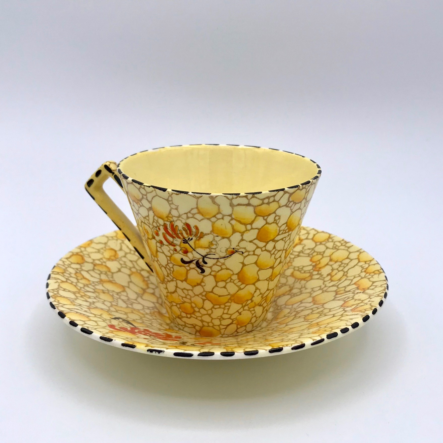 Royal Winton Pebble Chintz Cup & Saucer