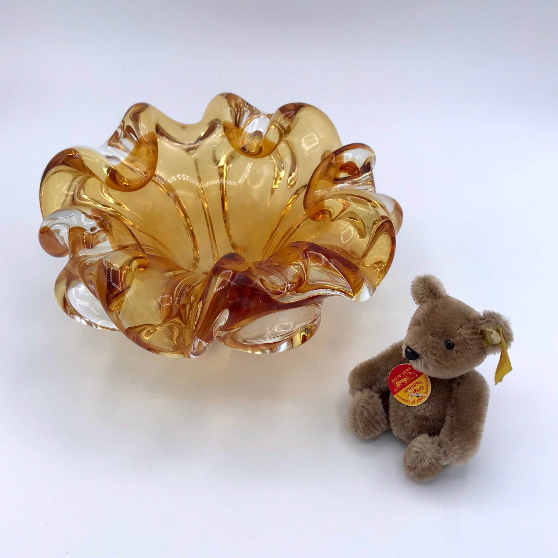 Chalet Glass Candy Dish