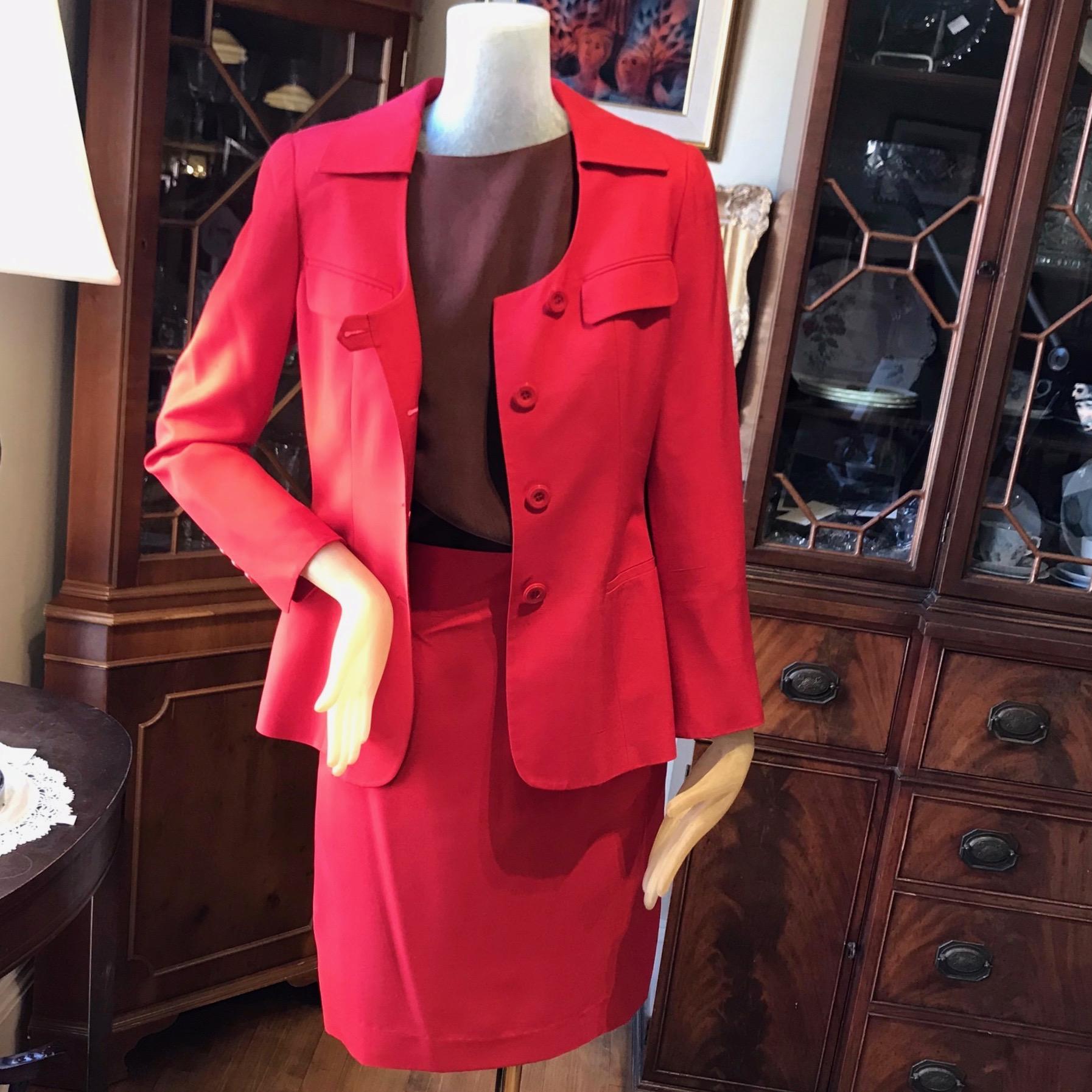 Red Italian Suit (1970s)