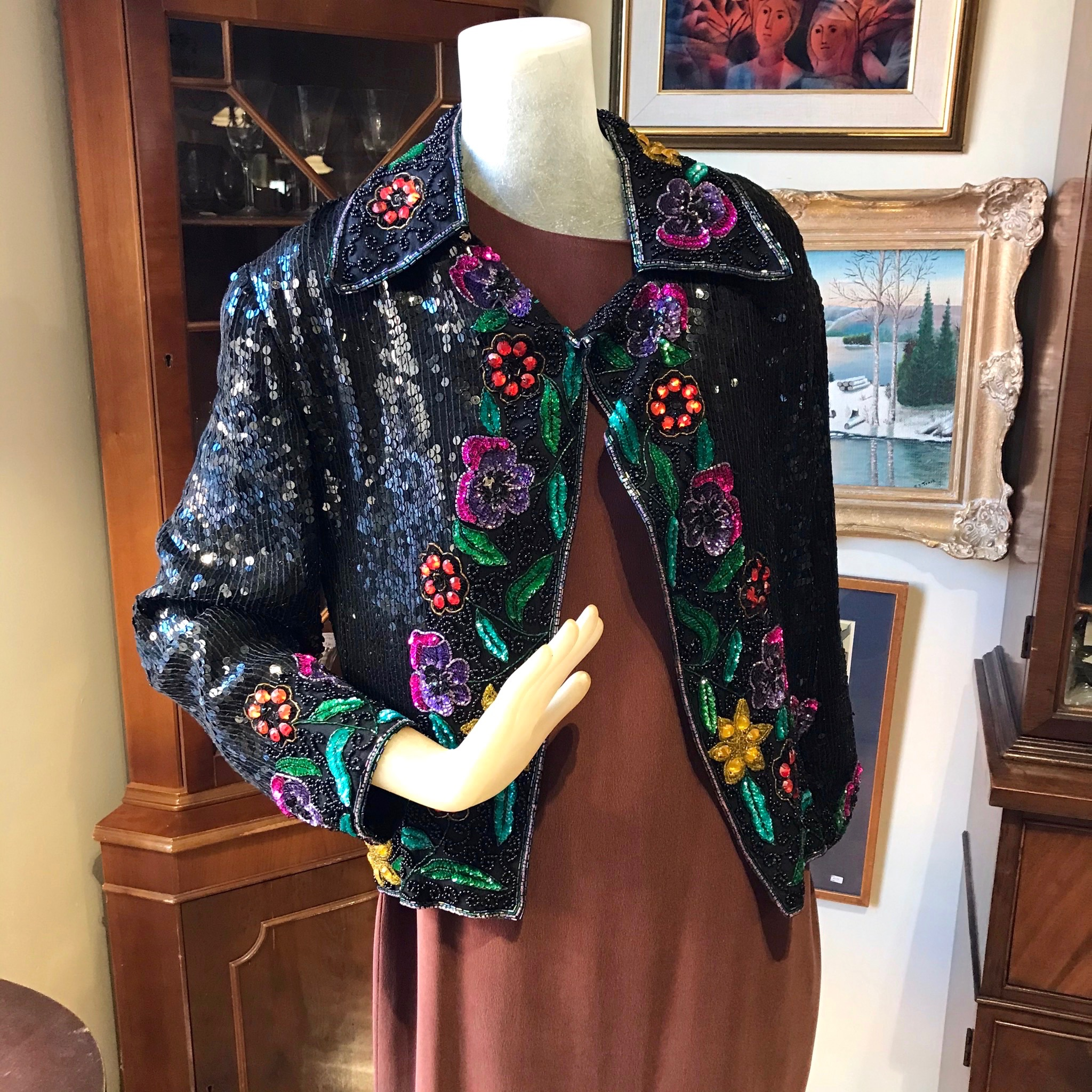 Floral Beaded Jacket