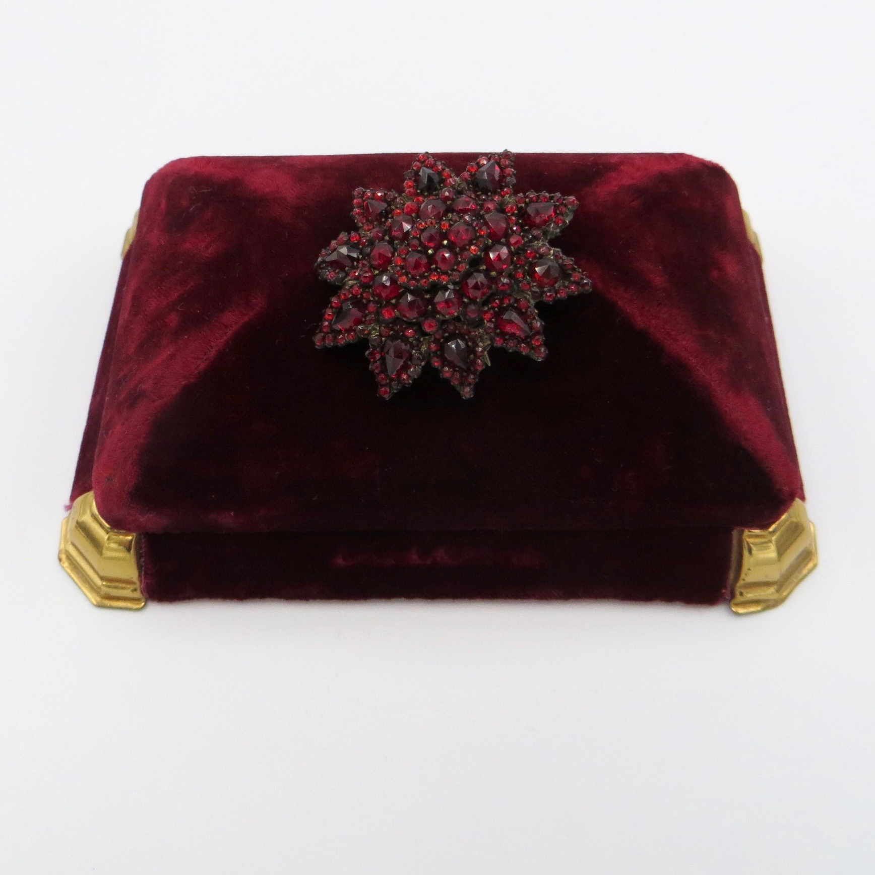 Garnet Pendant/Brooch