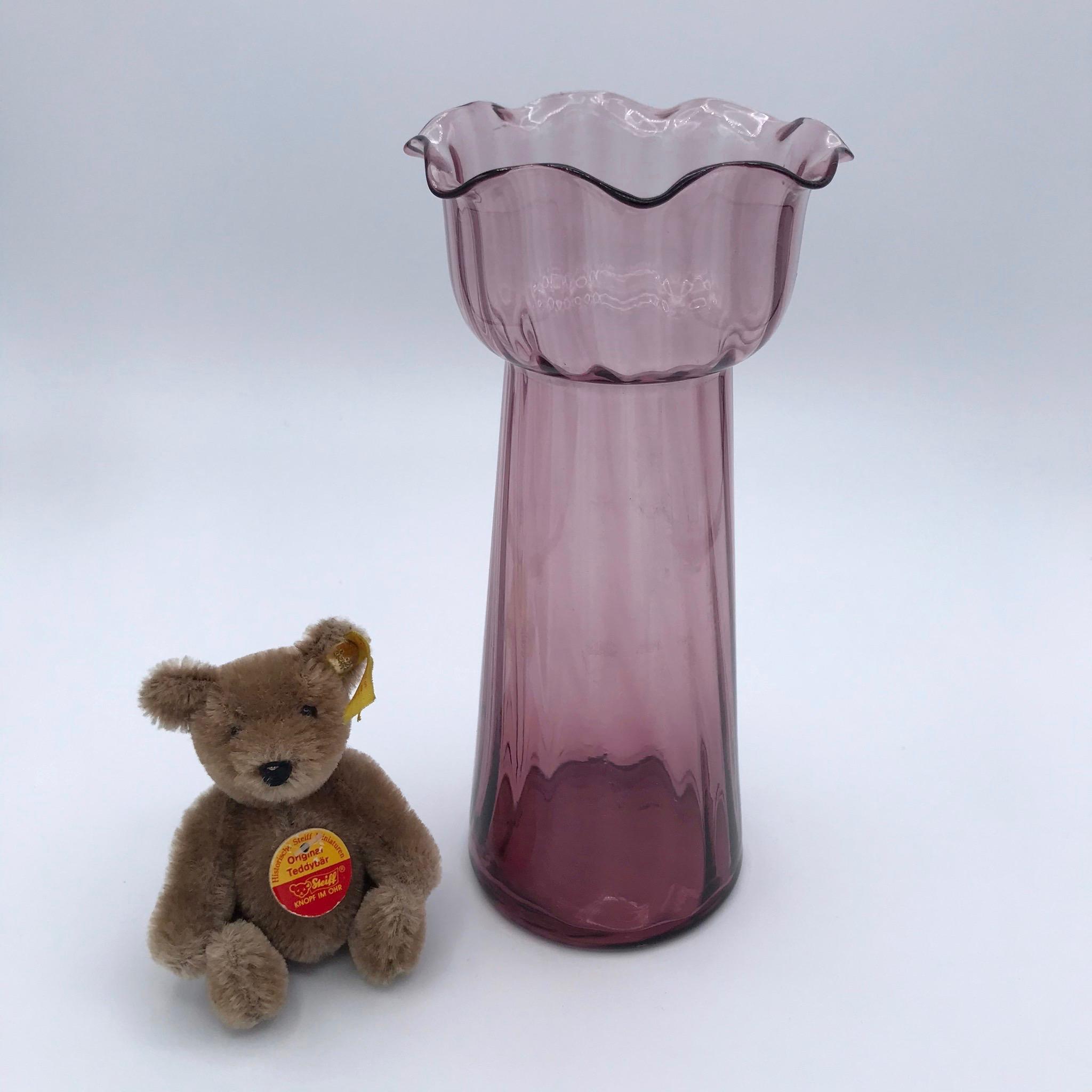 Lavender Bulb Vase
