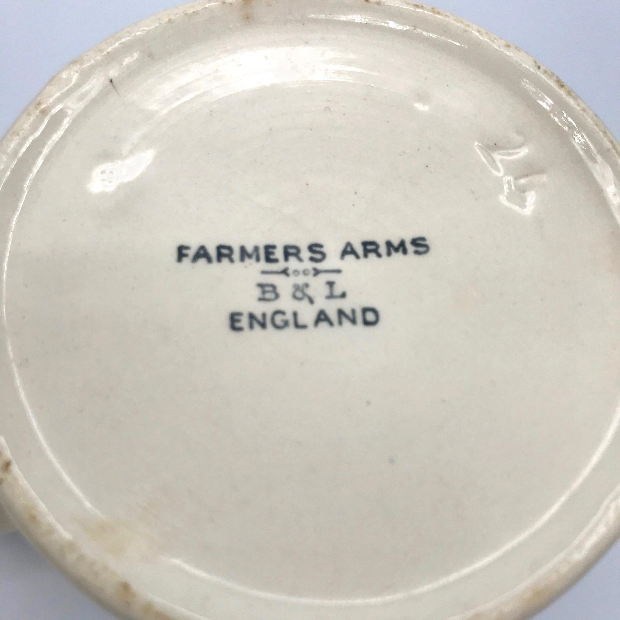 """God Speed the Plow"" Vintage Farmer's Mug"