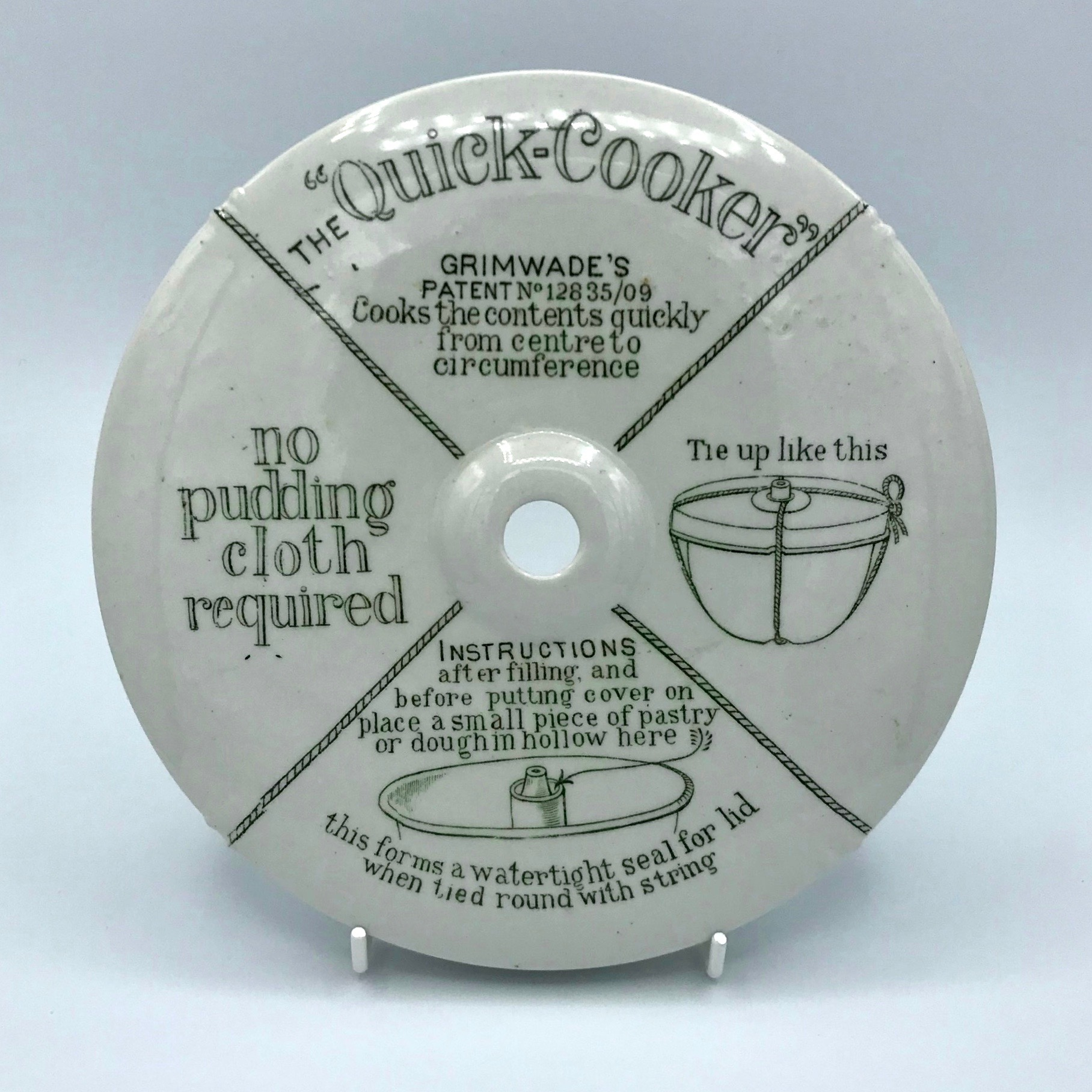 Vintage Pudding Quick-Cooker