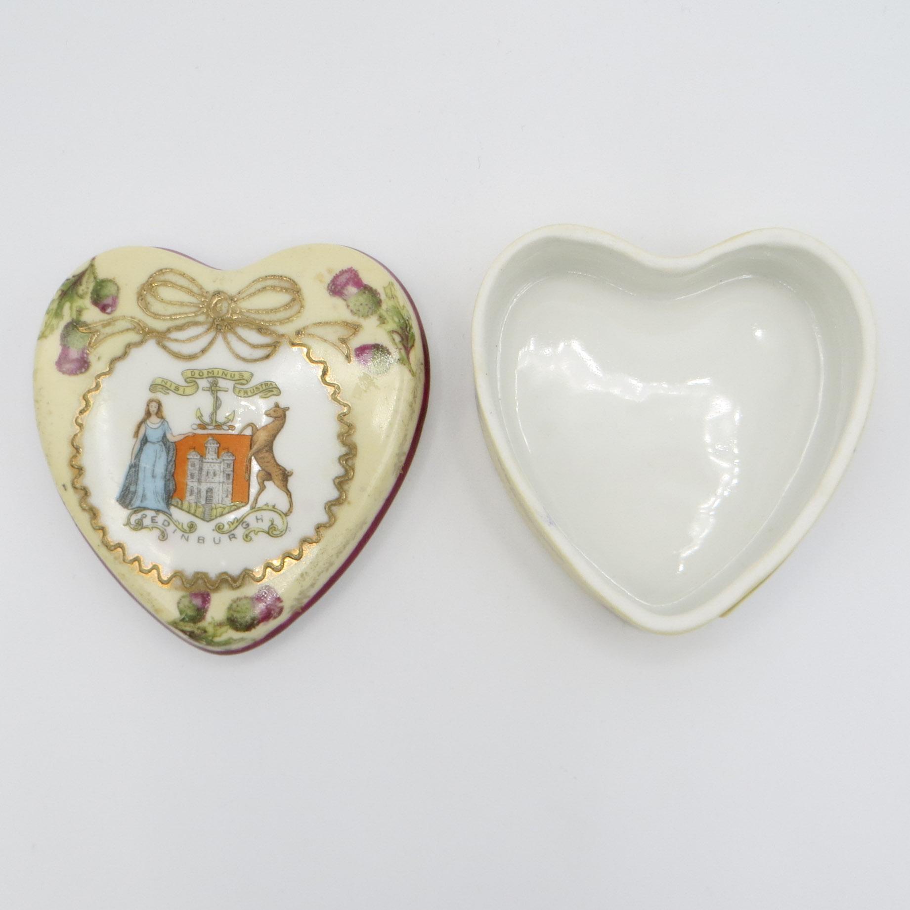 Edinburgh Souvenir Heart