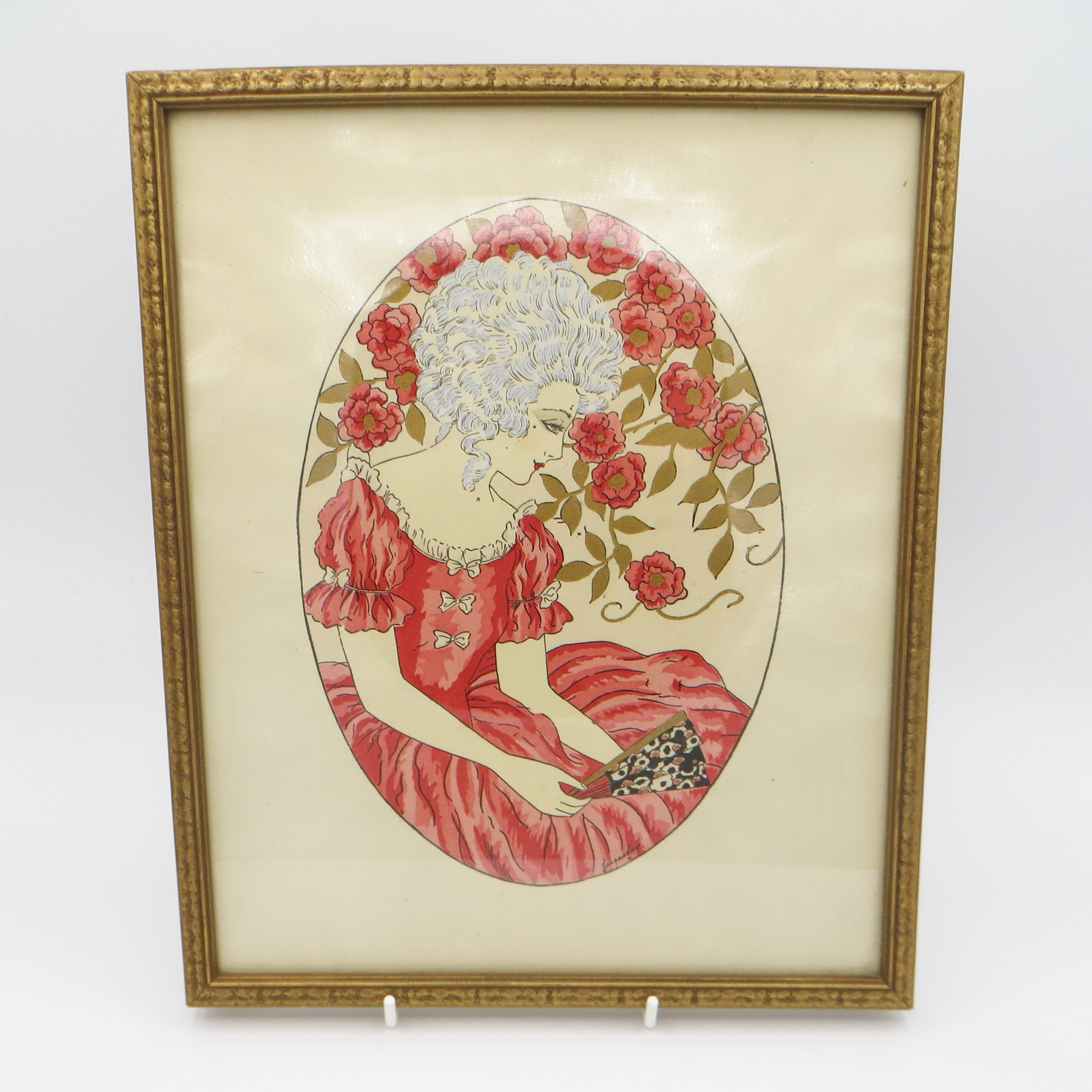 Vintage Rose Fashion Print