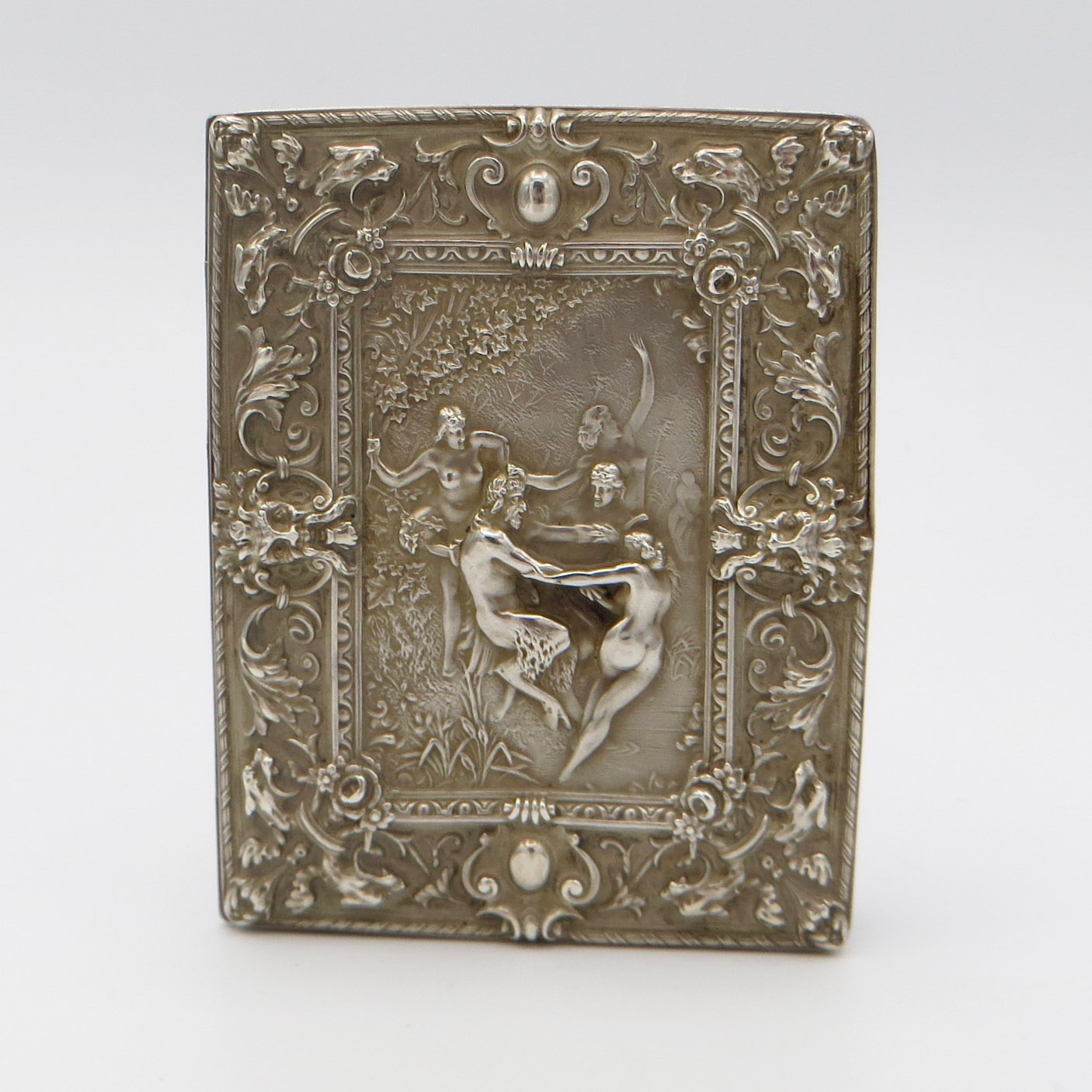 Sterling Silver Bacchanal Card Case