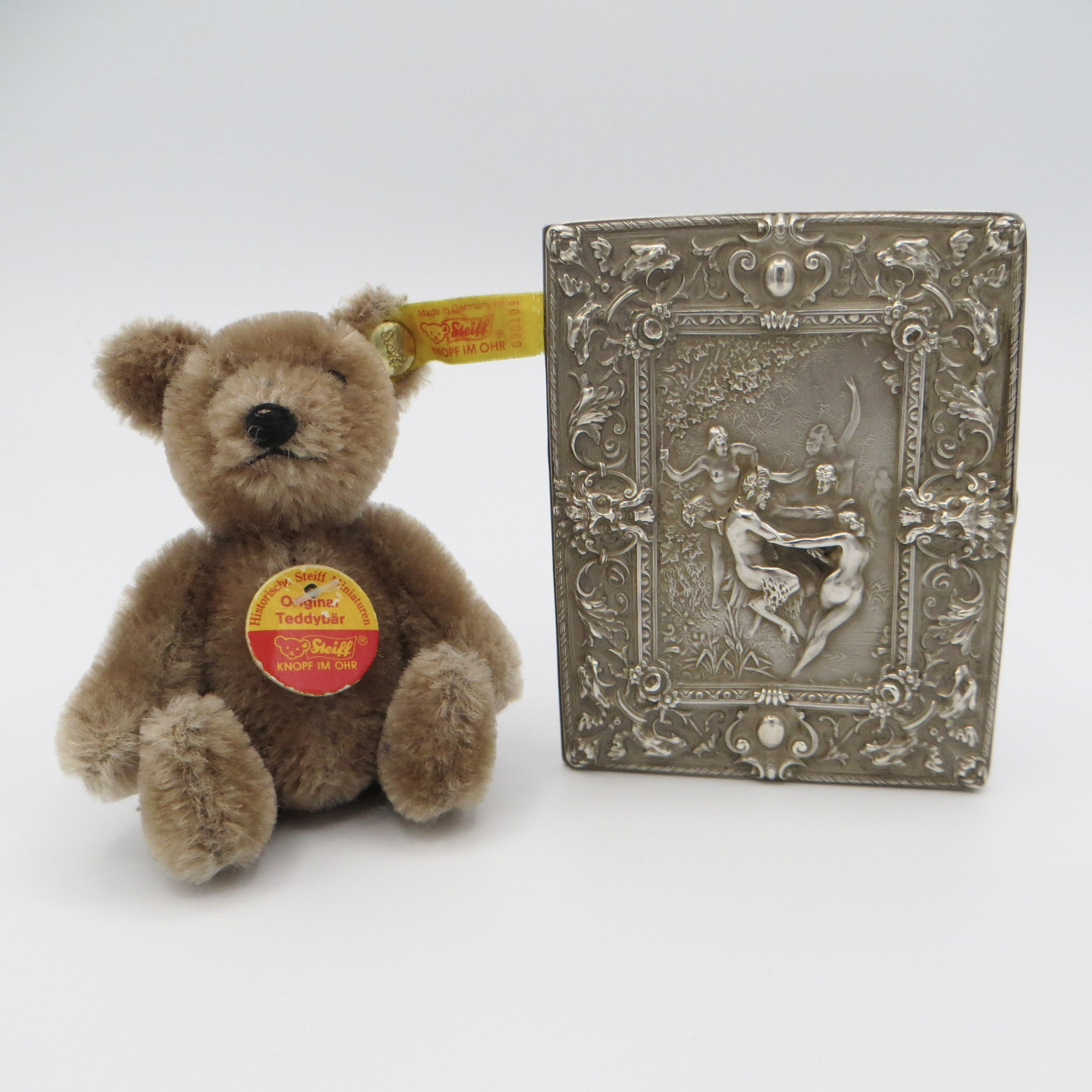 Sterling Silver Bacchanal Card Case