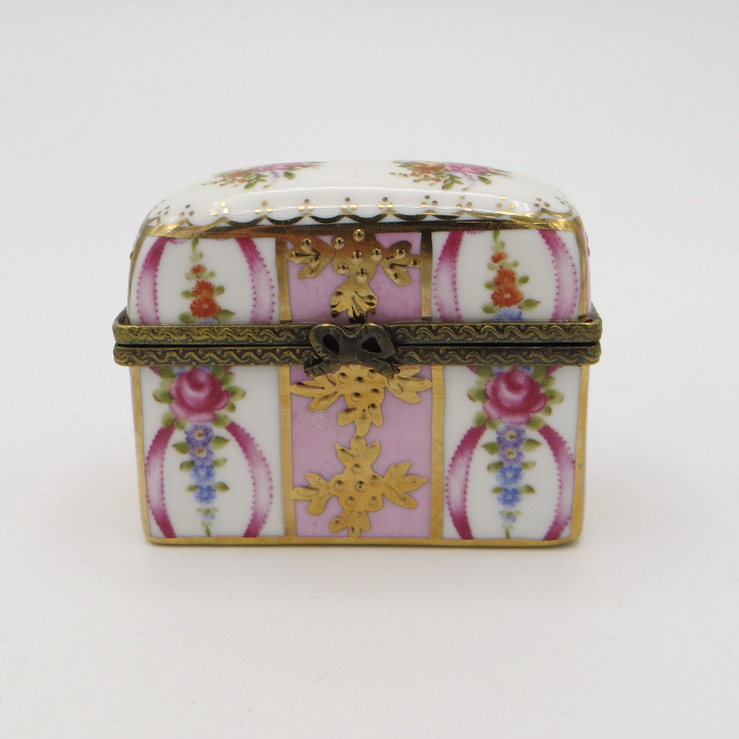 Limoges Dresser Box & Scent Bottles