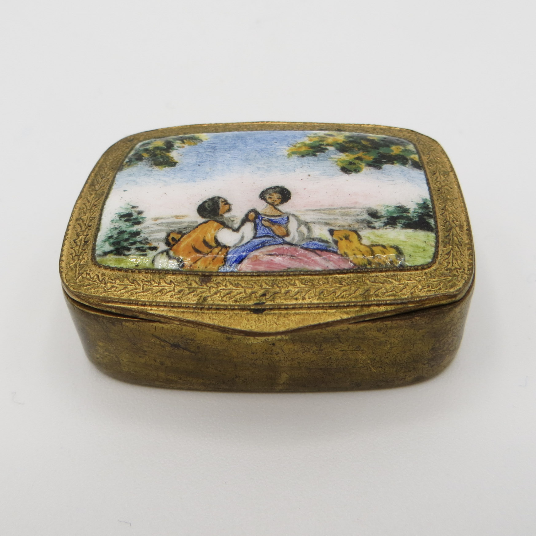 Italian Enamel Box