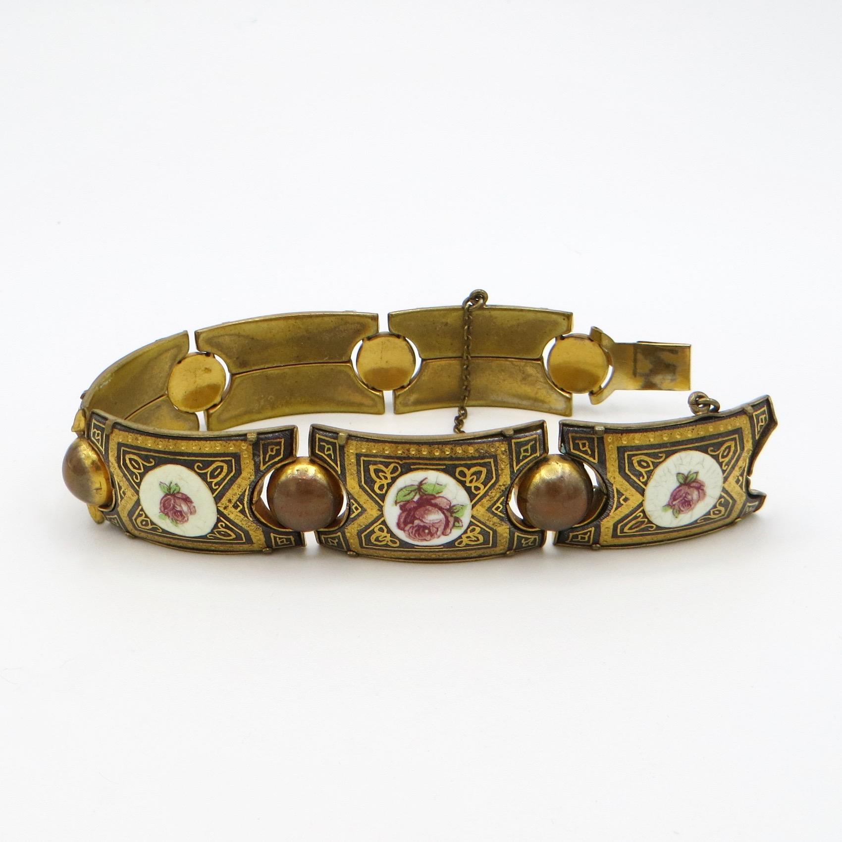 Rose Panel Bracelet