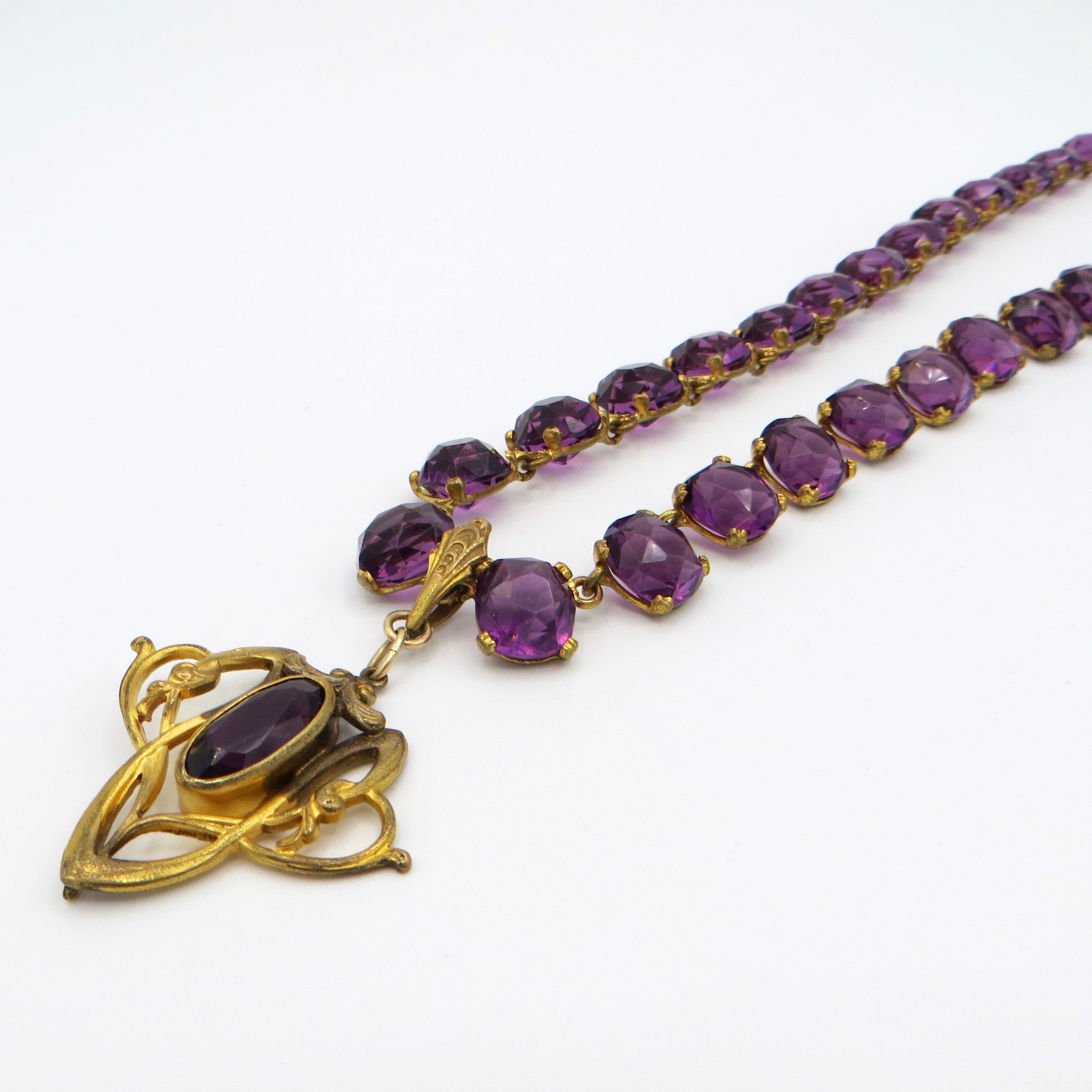 Victorian Glass Necklace