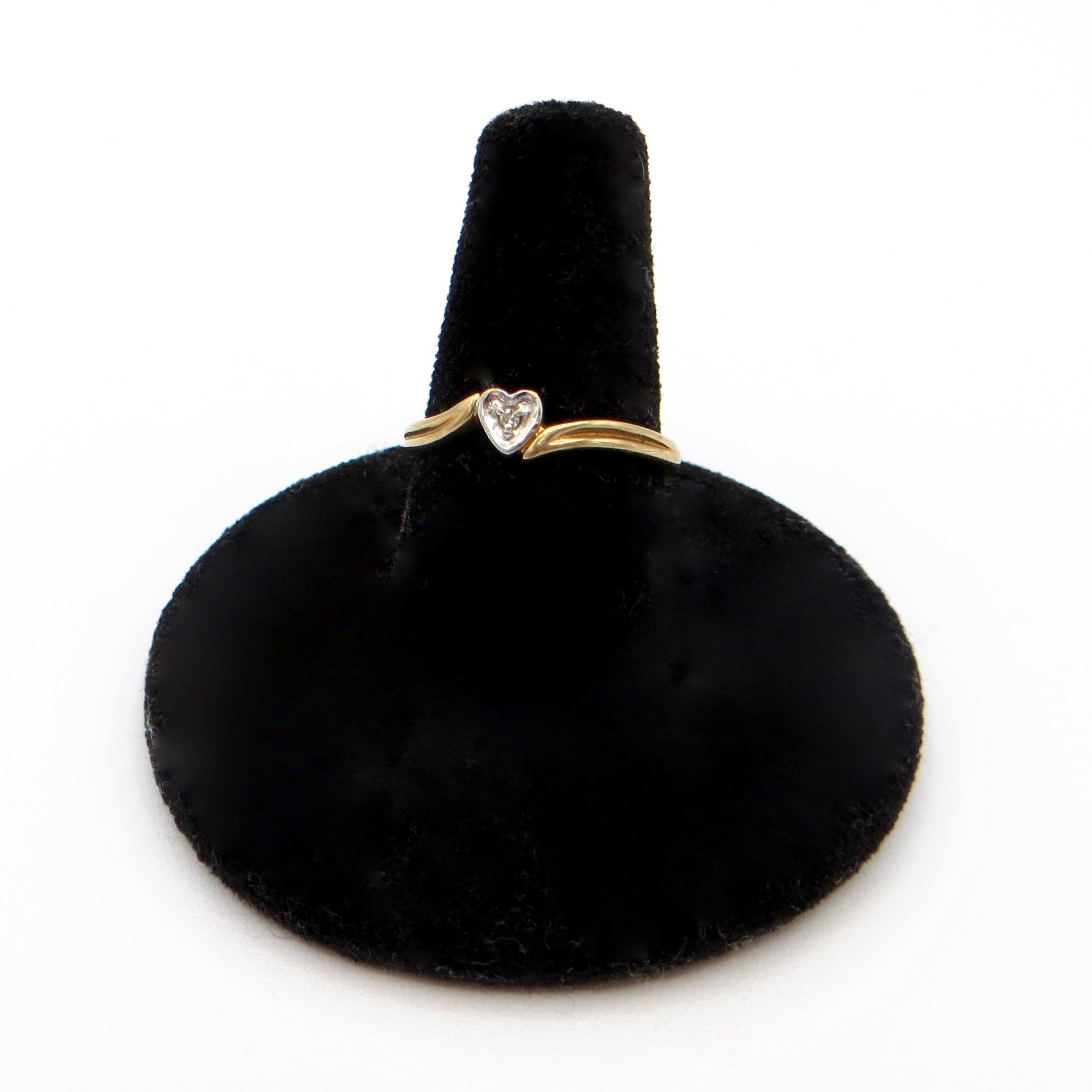 Dainty Gold Heart Ring