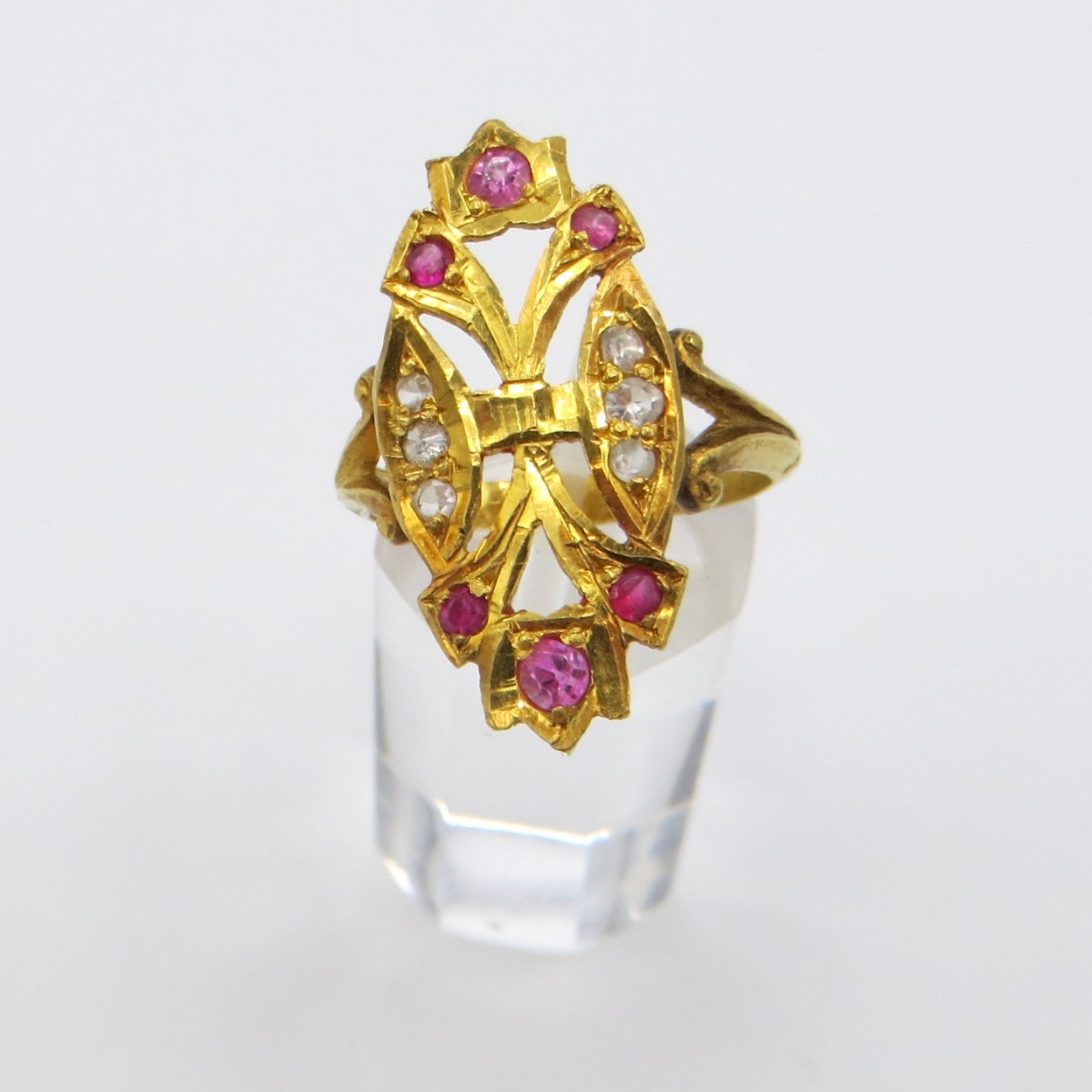 22ct Gold Raj Ring