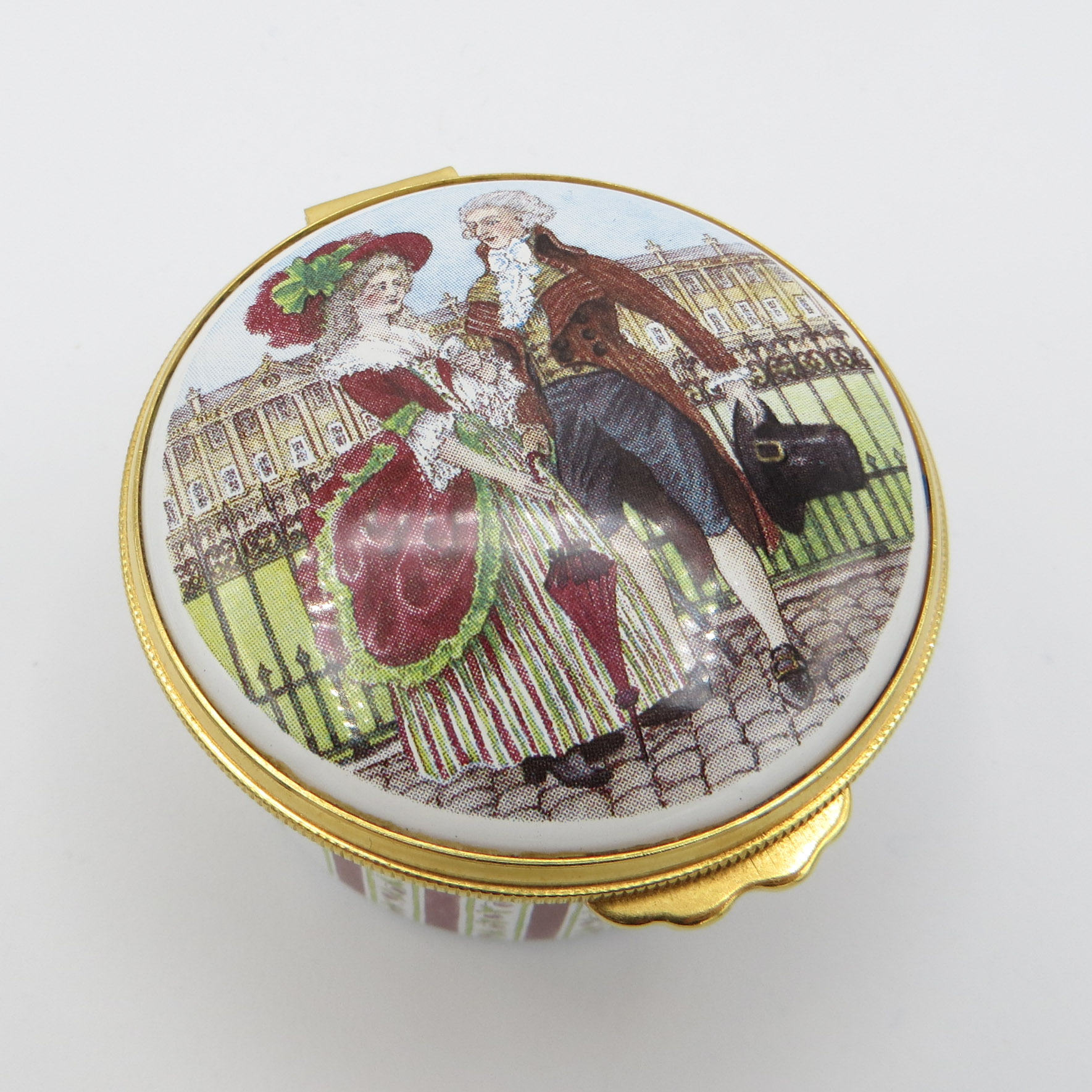 German Porcelain Dresser Box