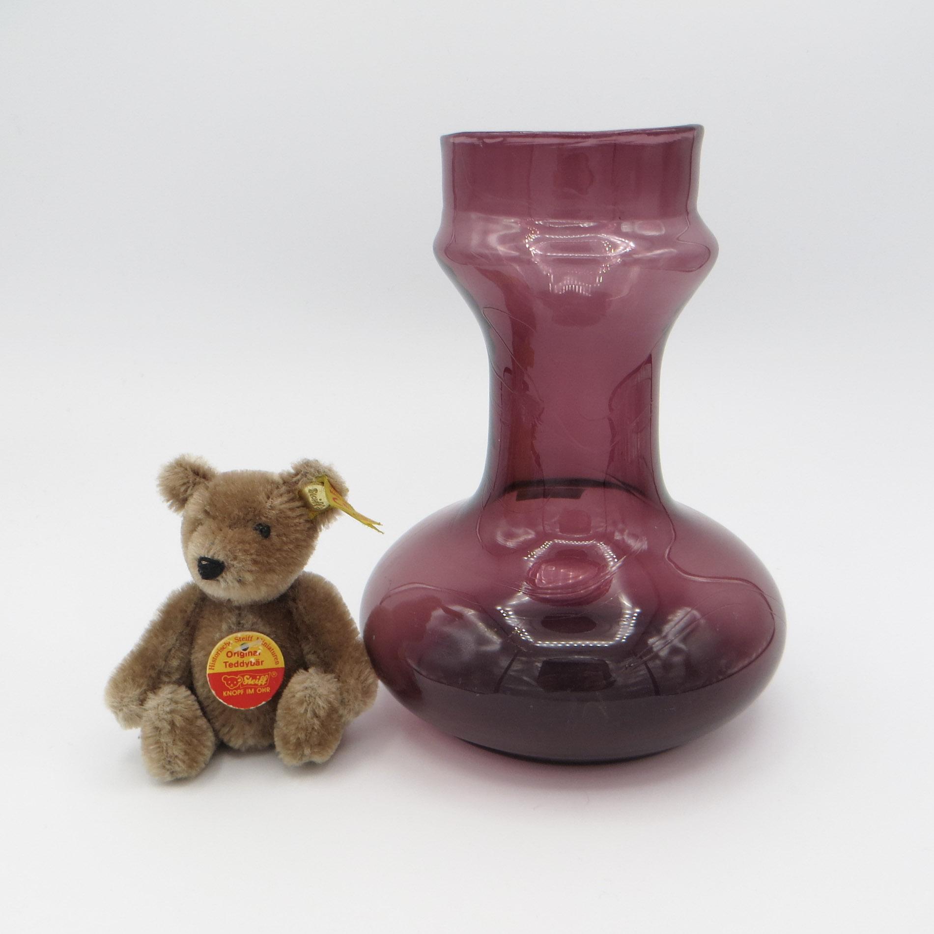 Purple Bulb Vase