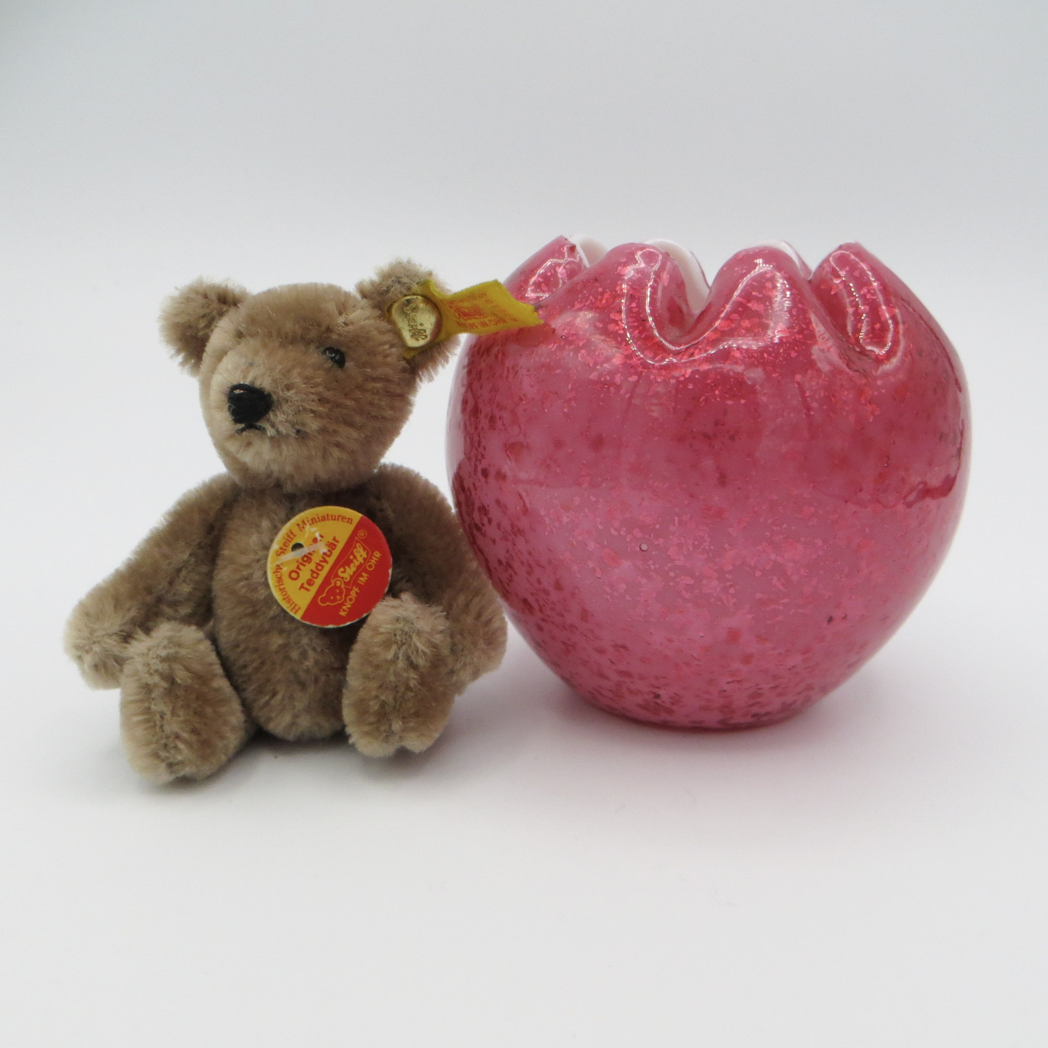 Pink Marina Glass Bowl