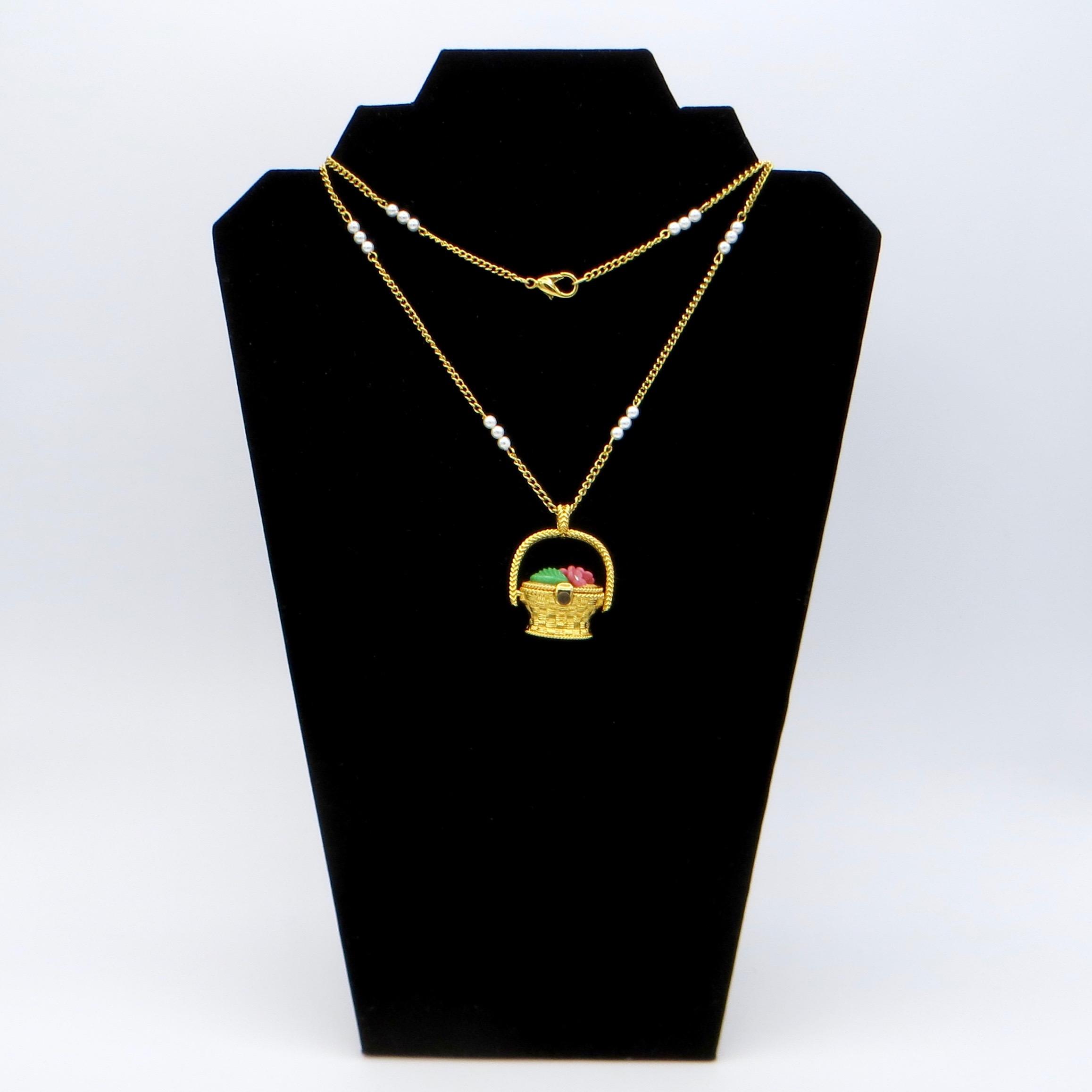 Berebi Limited Edition Basket Necklace
