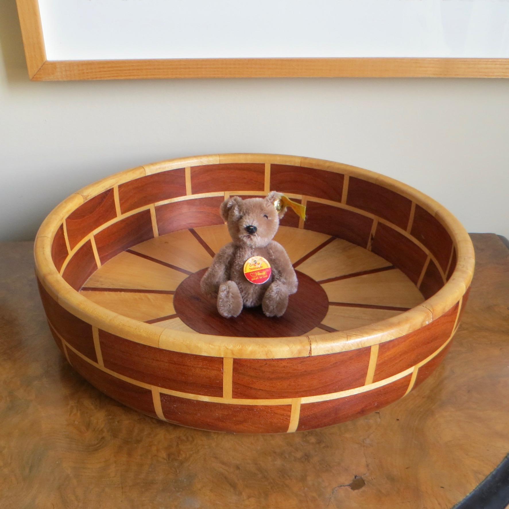 Wooden Sun Bowl