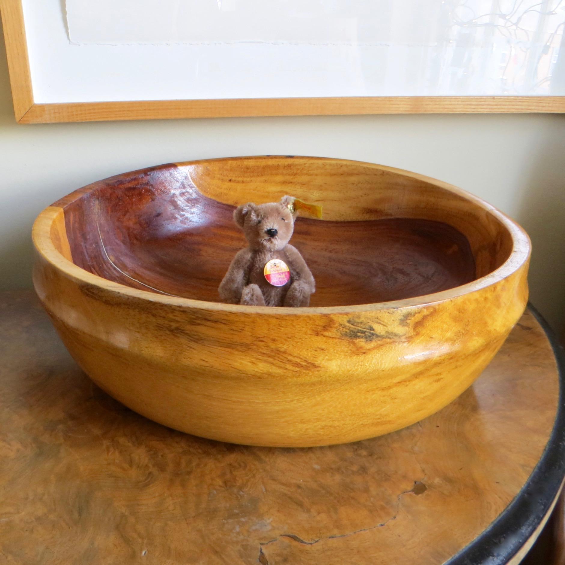 Artisan Wood Bowl