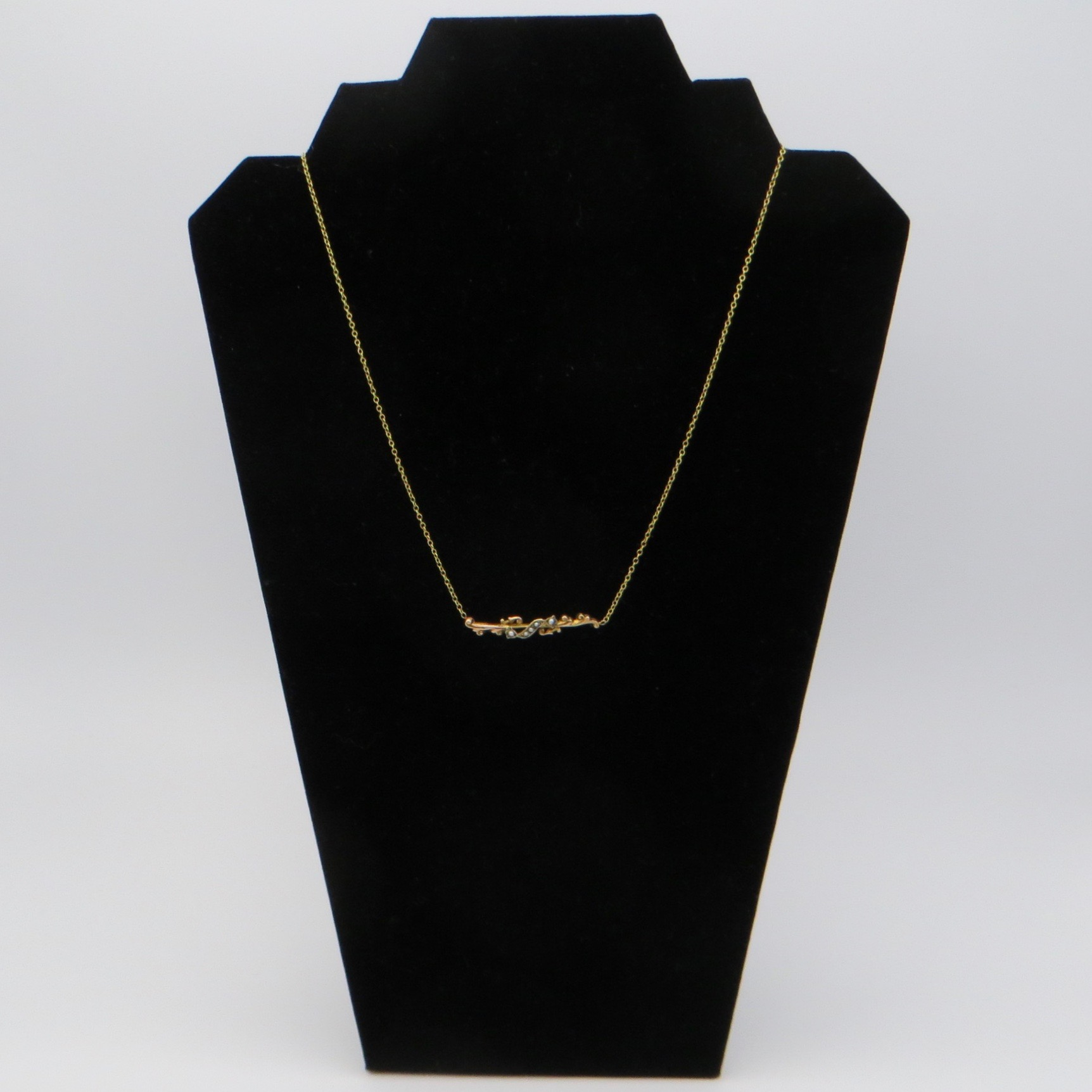 Seed Pearl Necklace