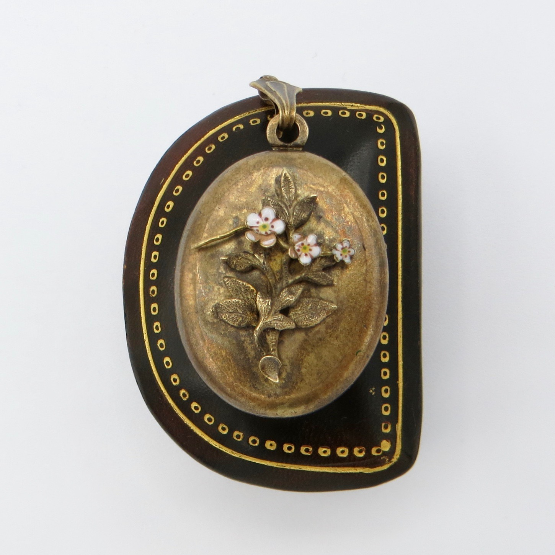 Victorian Floral Locket