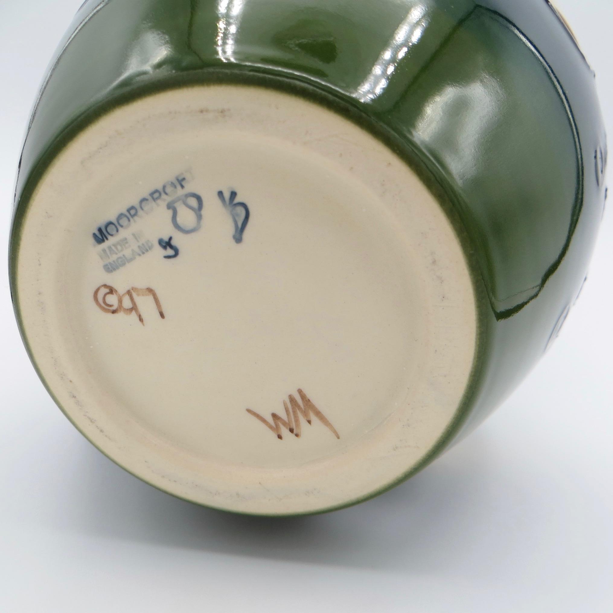 Moorcroft Passionfruit Vase