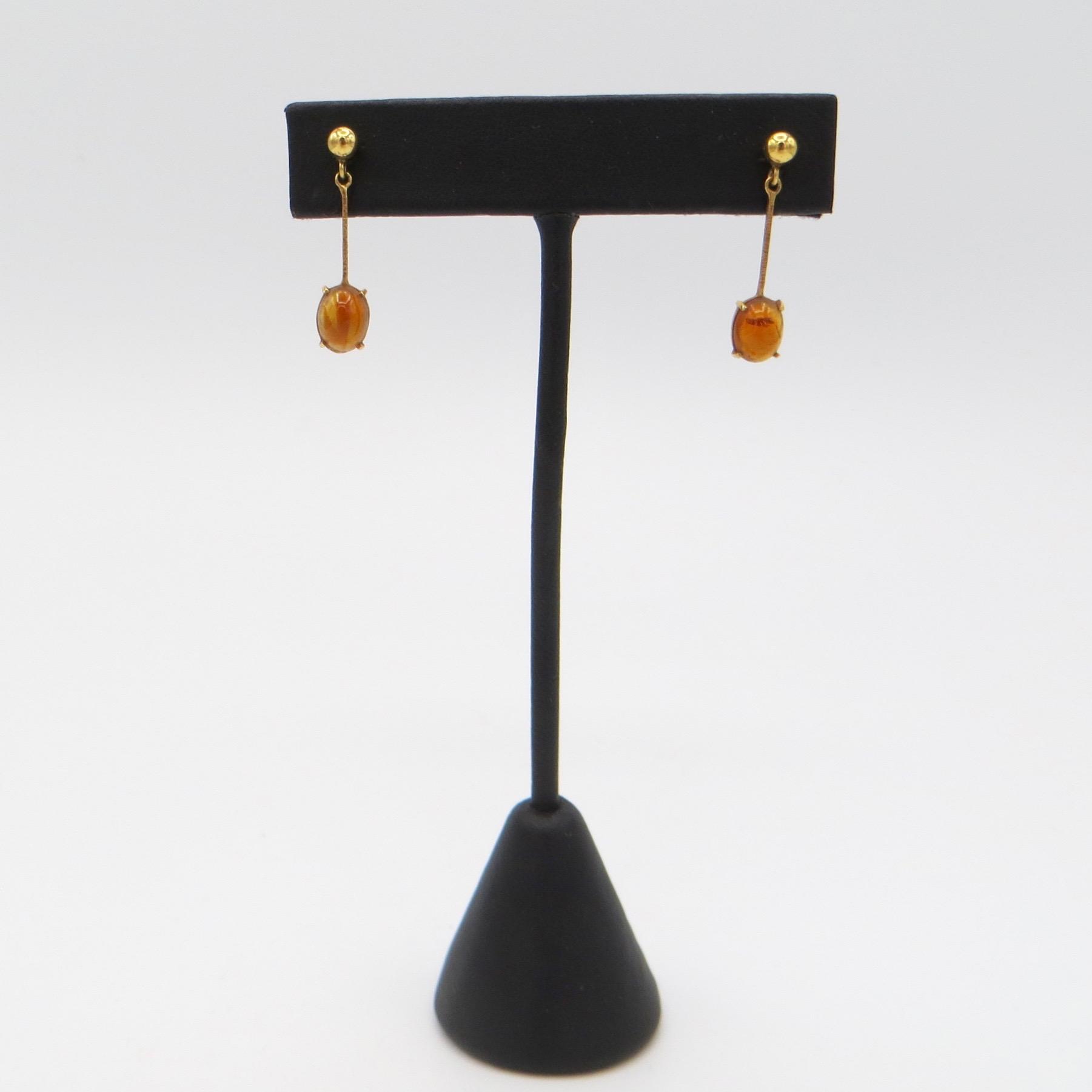 14kt Jelly Opal Earrings